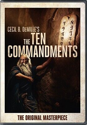 THE TEN COMMANDMENTS New Sealed DVD 1923 Silent Cecil B DeMille