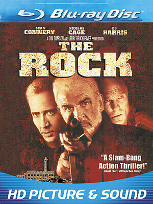 THE ROCK New Sealed Blu-ray Sean Connery Nicholas Cage