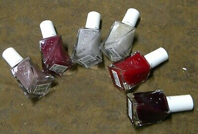 ELISE NAIL COLOR ~ Gel Couture Nail Polish ~ Lot Of 6 Colors ! Free ...