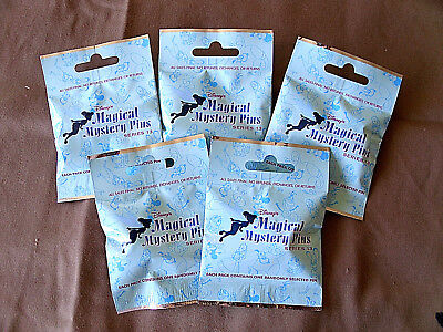 Disney * MAGICAL MYSTERY PINS - SERIES #13 * 5 PACKS * NEW Mystery Pack Pins