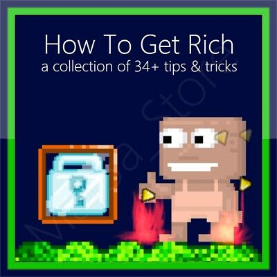 How To Get Rich - earn World / Diamond locks in Growtopia