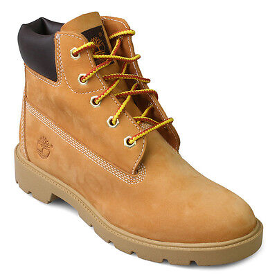 db0936c2828 TIMBERLAND 10960 6 inch Wheat/Nubuck Classic Youth Boys Boots Size ...