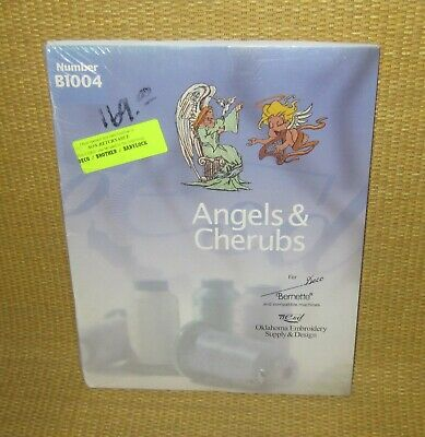 Angels & Cherubs B1004   *NEW* OESD Embroidery Card Brother Deco Babylock RARE