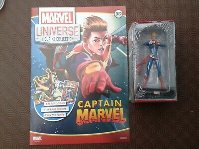 Panini Marvel Universe Figurine Collection # 30 Captain Marvel