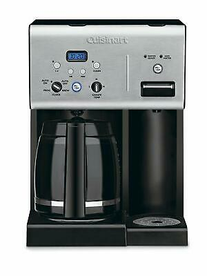 Cuisinart-15 12-Cup Coffee Maker And Single-Serve Brewer, Stainless Steel