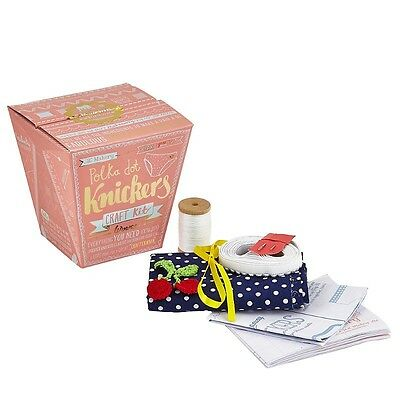 Make Your Own Polka Dot Knickers Craft Kit By The Makery - Gift - BNIB Cherries
