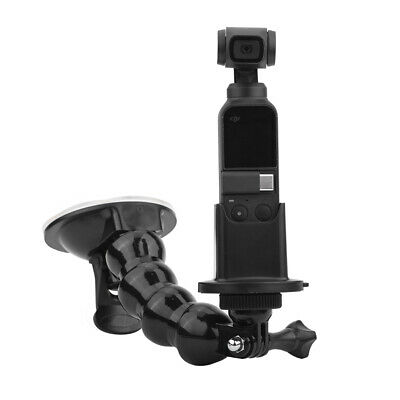 For DJI OSMO Pocket Accessories Mount Bracket Glass Suction Cup Car Holder