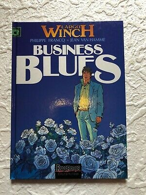 Largo Winch T4 Business Bleues  EO 1993