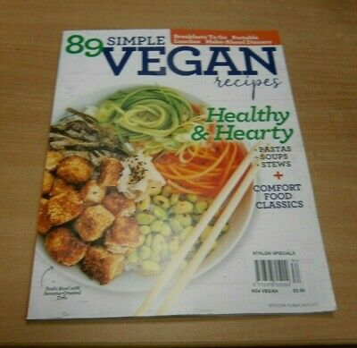 Athlon Specials magazine #34 Vegan Cooking; 89 Simple Recipes