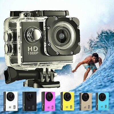 Ultra Hd 1080P Waterproof Sports Camera Action Go Dv Video Helmet Dvr Cam Pro