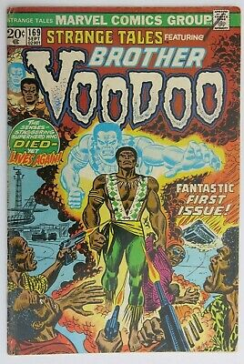 Strange Tales #169 - 1st app. Brother Voodoo - Marvel Comics