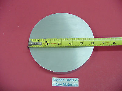 "2 Pieces 7/"" ALUMINUM 6061 ROUND ROD 2.5/"" LONG T6511 7.00/"" Solid Lathe Bar Stock"