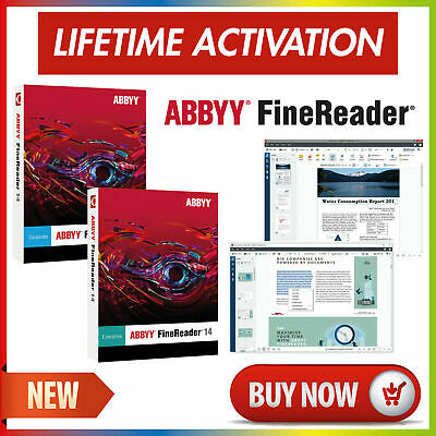 ABBYY FineReader 14 Corporate/Enterprise 🔥 Lifetime Activation 🔐 Fast Delivery