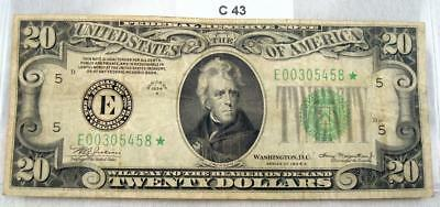 1934-A $20 *star* Federal Reserve Note - Bank Of Richmond  #c43