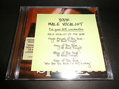 LOADED-THE BEST OF BLAKE SHELTON-Collectible CD presented for ACM Awards voting