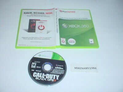 CALL OF DUTY: BLACK OPS II game only in printed case - Microsoft XBOX 360