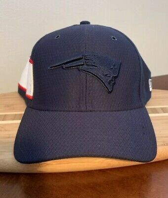 newest collection dc16b e8a03 New England Patriots Cap New Era 39Thirty 2018 Color Rush Sideline Hat L-XL