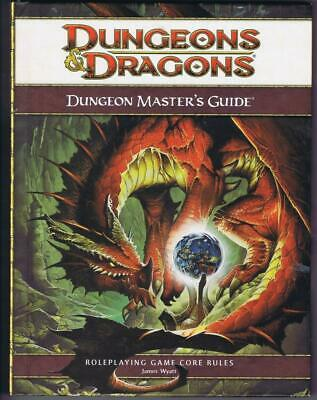 Dungeon Master's Guide (Dungeons Dragons 4th Ed. D&D Core Rulebook d20 WoTC)
