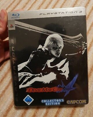 Devil May Cry 4 Collectors Edition Steelbook PS3 Sony BLES00186 Spiel