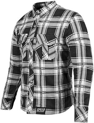 Speed & Strength Rust & Redemption Armored Shirt Lg Grey 878982