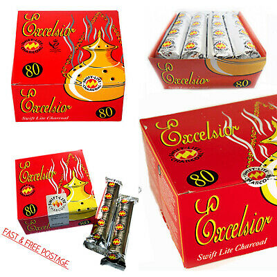 Shisha Swift-Lite Excelsior Charcoal Hookah Incense Burner Shesha Coal Discs