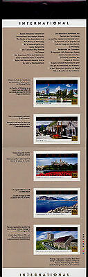 Canada 1904 Booklet BK244b MNH Tourist Attractions, Flowers, Architecture
