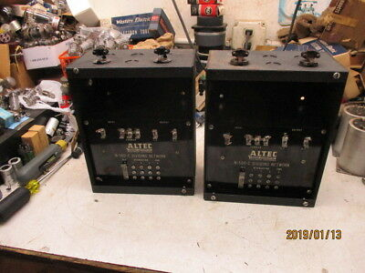 1  pair  of  ALTEC   N500C  from 1946 for red white blue label 288 or 515 woofer