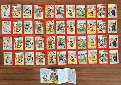 """ENID BLYTON'S NODDY HAPPY FAMILIES """"SNAP"""" CARD GAME – USED game 3/3 I have"""