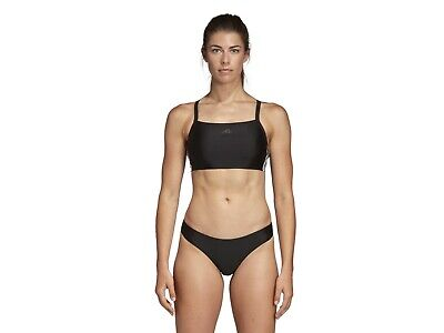 Costume Piscina Donna Adidas  Dq3309  Bikini 3 Stripes Black