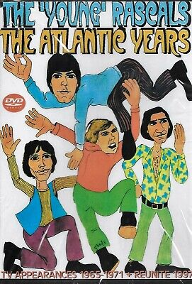 The Young Rascals The Atlantic Years Compilation 1965-1971 + REUNITE 1997 DVD