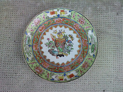 ancienne assiette porcelaine chinoise ? chinese plate porcelain