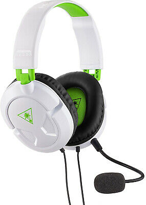Turtle Beach Recon 50X White Stereo Gaming Headset - Xbox One, Xbox One S, PS4
