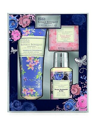 Baylis & Harding Royale Bouquet Limited Edition 3 Piece Collection 265Ml