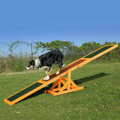 Dog Sport Training Seesaw Pet Activity Agility Obedience Garden Toy Supplies New