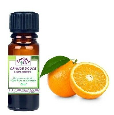 Huile essentielle ORANGE DOUCE 5ml 100% pure et naturelle TOP QUALITIE!!!