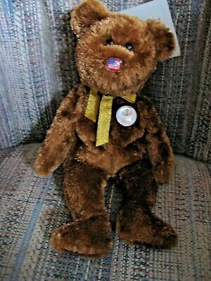 c005beefd72 TY Beanie Babies Champion The FIFA Bear (United States) 2002 11th Gen Tush  Tag