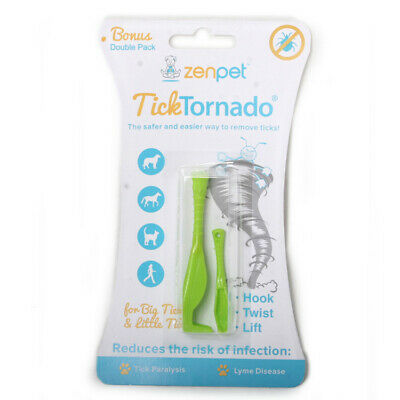 Tick Tornado Remover 18 Count Pets Humans Easy To Use Safe Effective Removes
