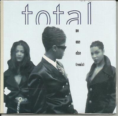 TOTAL No One Else 2TRX REMIXES w/ PUFF DADDY LIMITD Card Sleeve CD Single SEALED