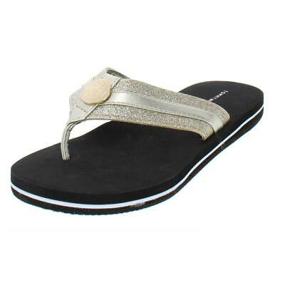 3003c5273a60e9 Tommy Hilfiger Womens Capes Glitter Thong Casual Flip-Flops Shoes BHFO 5133