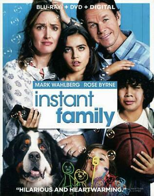 Instant Family New Blu-Ray/Dvd