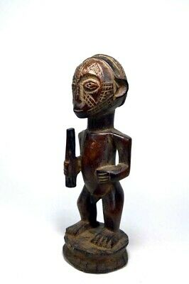 A Vintage Tabwa Male or Chieftain sculpture, African Tribal Art
