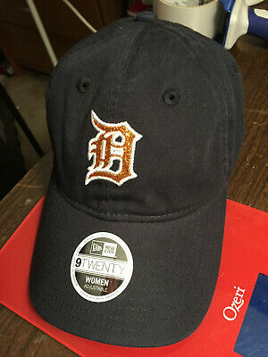 meet 0e003 e5282 Detroit Tigers MLB Women s Team Glisten Baseball Hat Cap Lid Adjustable  Ladies D