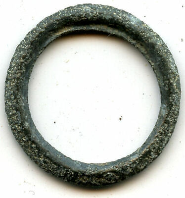 Authentic (19 mm, 1.16 g.) bronze Ancient Celtic ring money, 800-500 BC, Europe