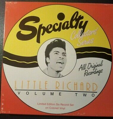 Little Richard Vol2 - Specialty 45 Box Set - 6 Multi Color 45 Records - 12 Songs