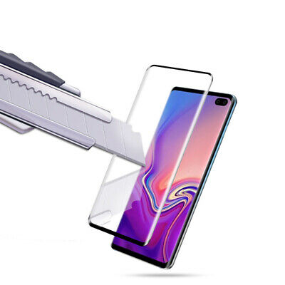 Tempered Glass Screen Protector Full Cover For Samsung Galaxy S10 Plus/S10e/S10