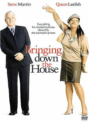 BRINGING DOWN THE HOUSE (DVD, 2003, Full Frame) New / Sealed / Free Shipping