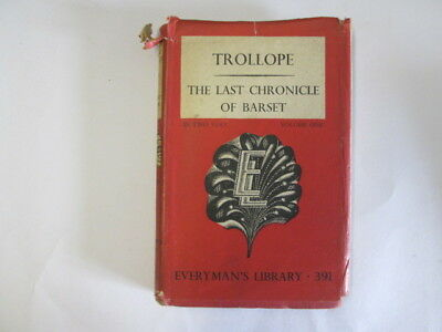 Good - THE LAST CHRONICLE OF BARSET VOLUME ONE - ANTHONY TROLLOPE 1951-01-01   J