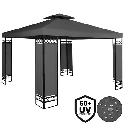 Garden Gazebo 3x3m Party BBQ Tent Outdoor Patio Marquee Canopy Awning Anthracite