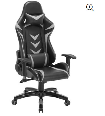 High-Back Swivel Gaming Chair With Lumbar- Racing Style Chair *READ DESCRIPTION*