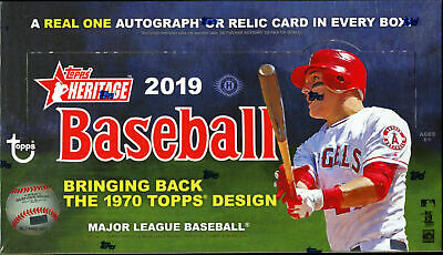 2019 Topps Heritage Complete Your Set Baseball Cards Pick From List 251-400